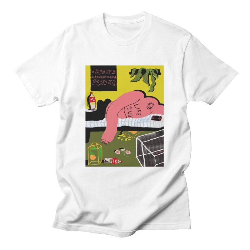 Life Sux Men's T-Shirt by Nicole Zaridze's Shop