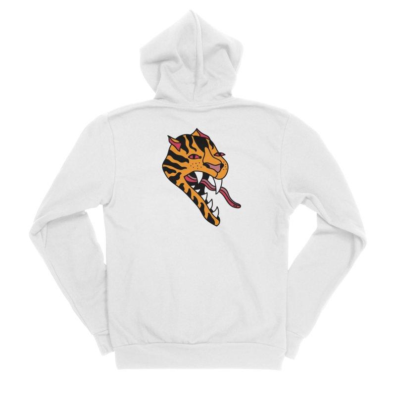 Tiger Women's Zip-Up Hoody by Nicole Zaridze's Shop