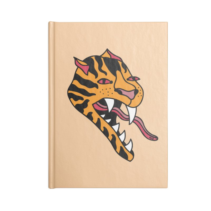 Tiger Accessories Notebook by Nicole Zaridze's Shop