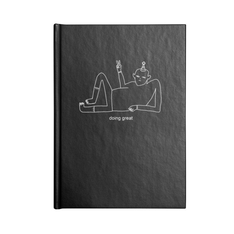 Doing Great Accessories Notebook by Nicole Zaridze's Shop