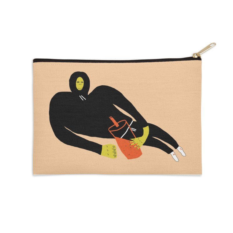 Banana Boy Accessories Zip Pouch by Nicole Zaridze's Shop