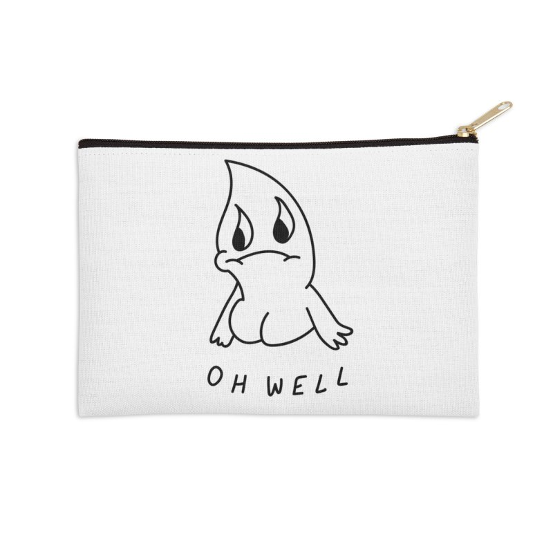 OH WELL Accessories Zip Pouch by Nicole Zaridze's Shop