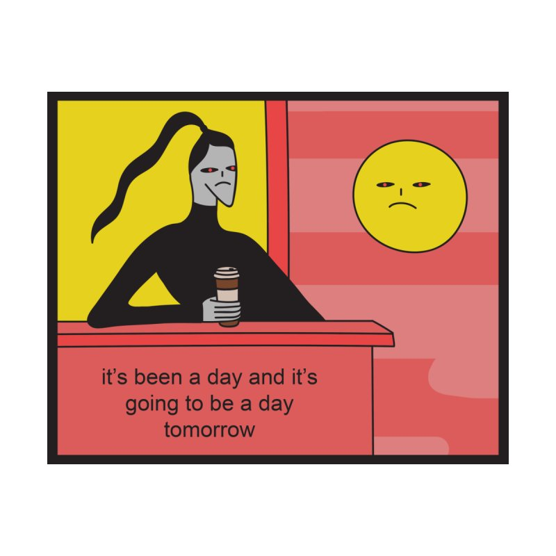 It's Been A Day Accessories Sticker by Nicole Zaridze's Shop