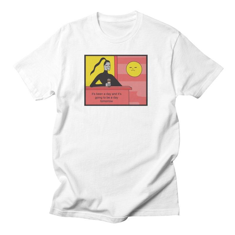 It's Been A Day Men's T-Shirt by Nicole Zaridze's Shop