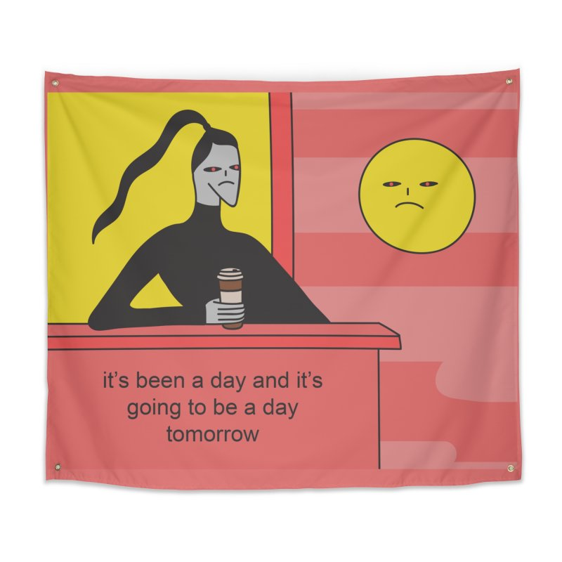 It's Been A Day Home Tapestry by Nicole Zaridze's Shop