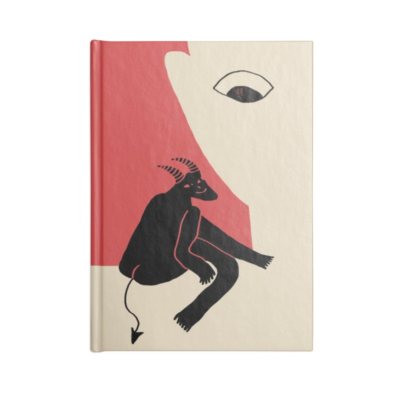 The Angel Couldn't Make It Today Accessories Blank Journal Notebook by Nicole Zaridze's Shop