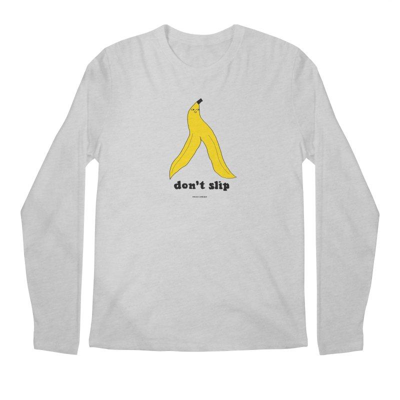 Don't Slip Men's Longsleeve T-Shirt by Nicole Zaridze's Shop
