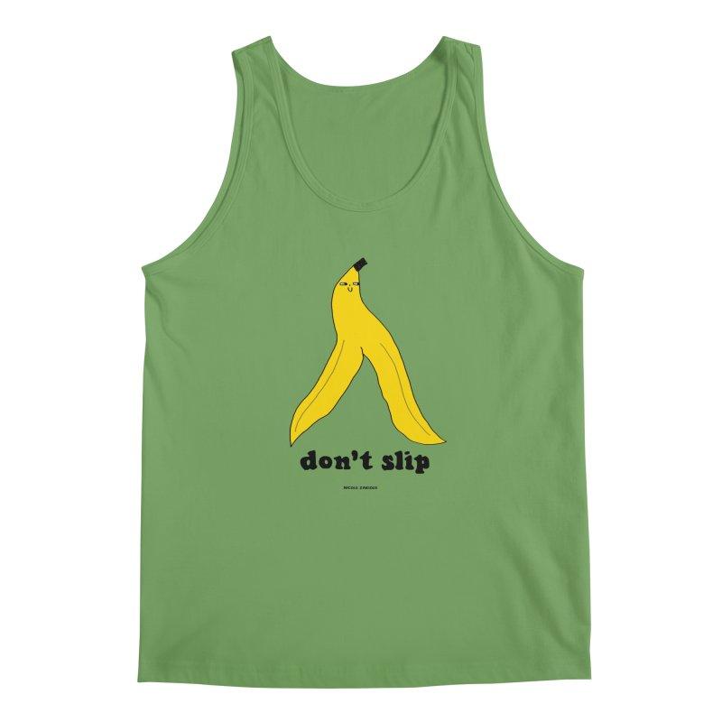 Don't Slip Men's Tank by Nicole Zaridze's Shop