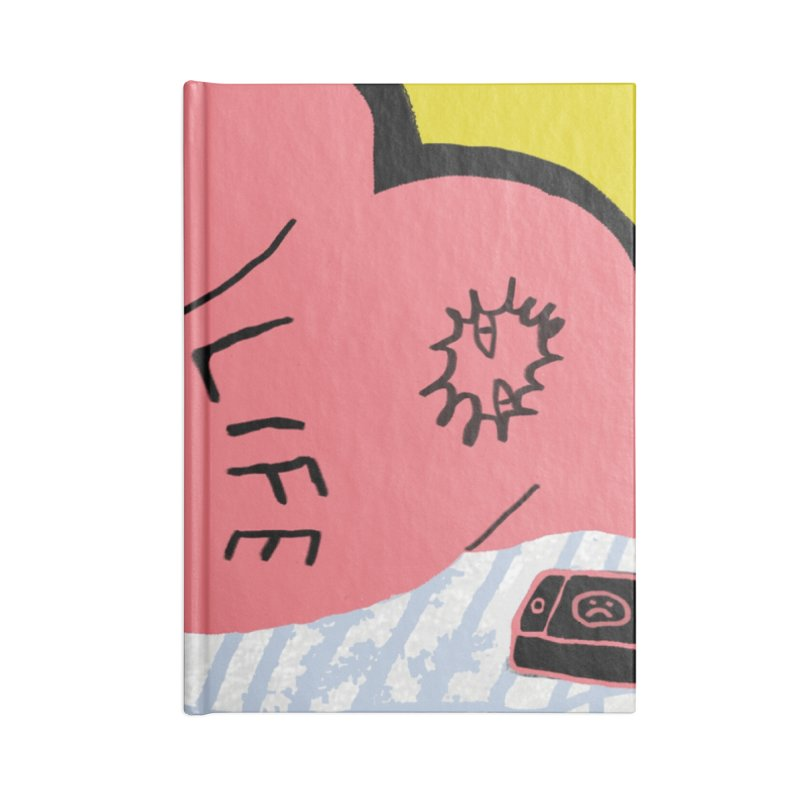 Life Sux Square Accessories Notebook by Nicole Zaridze's Shop