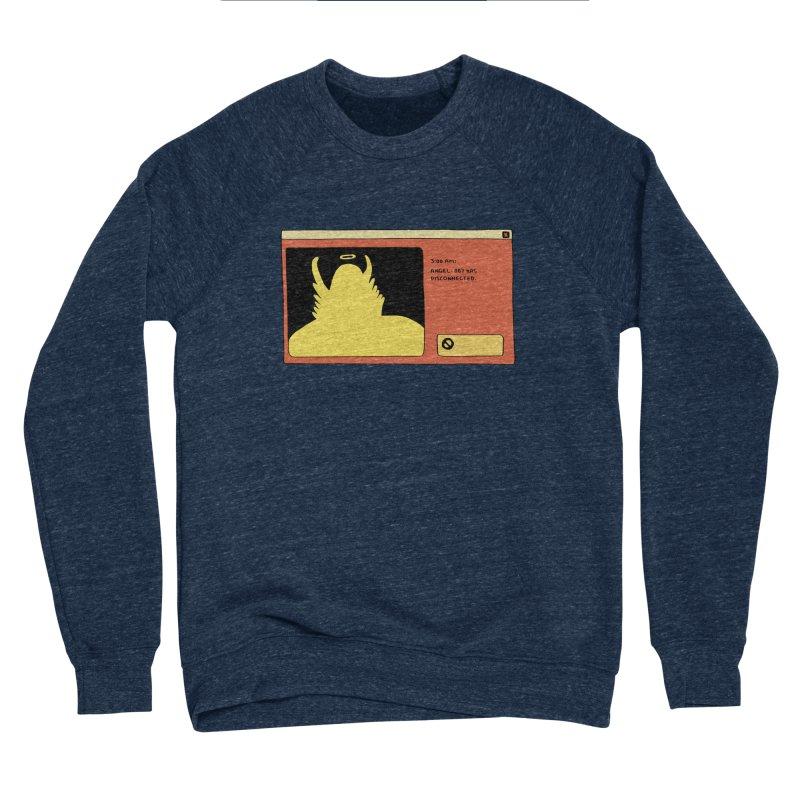 Angel-007 Has Disconnected Women's Sponge Fleece Sweatshirt by Nicole Zaridze's Shop