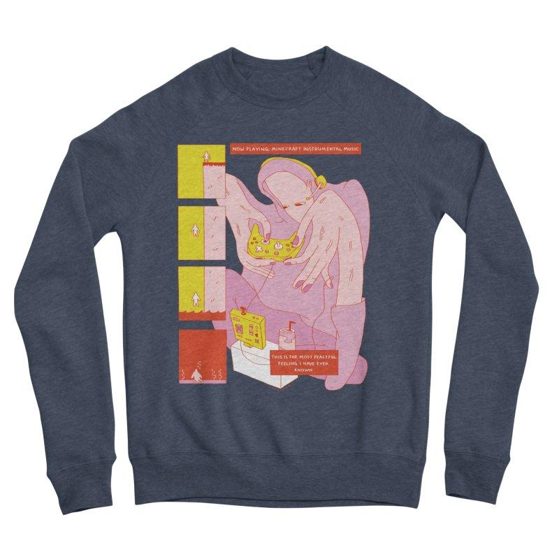 The Most Peaceful Feeling Women's Sponge Fleece Sweatshirt by Nicole Zaridze's Shop