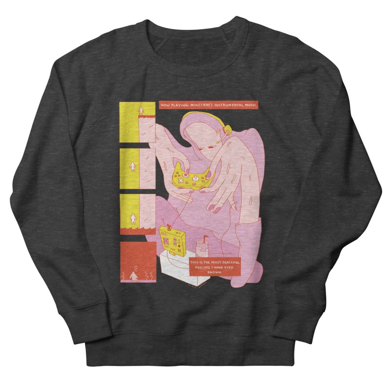 The Most Peaceful Feeling Men's French Terry Sweatshirt by Nicole Zaridze's Shop