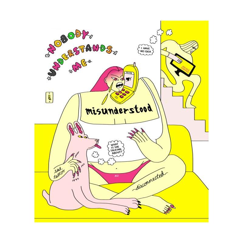 Misunderstood (Full Print) by Nicole Zaridze's Shop