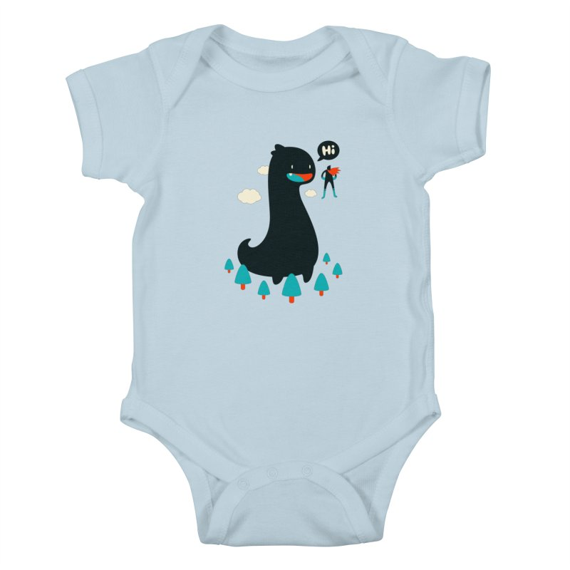 Safe from Harm Kids Baby Bodysuit by Niel Quisaba's Artist Shop