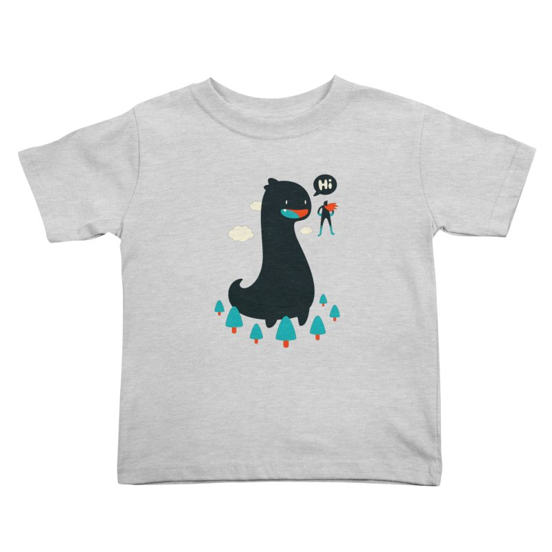 Safe from Harm Kids Toddler T-Shirt by Niel Quisaba's Artist Shop