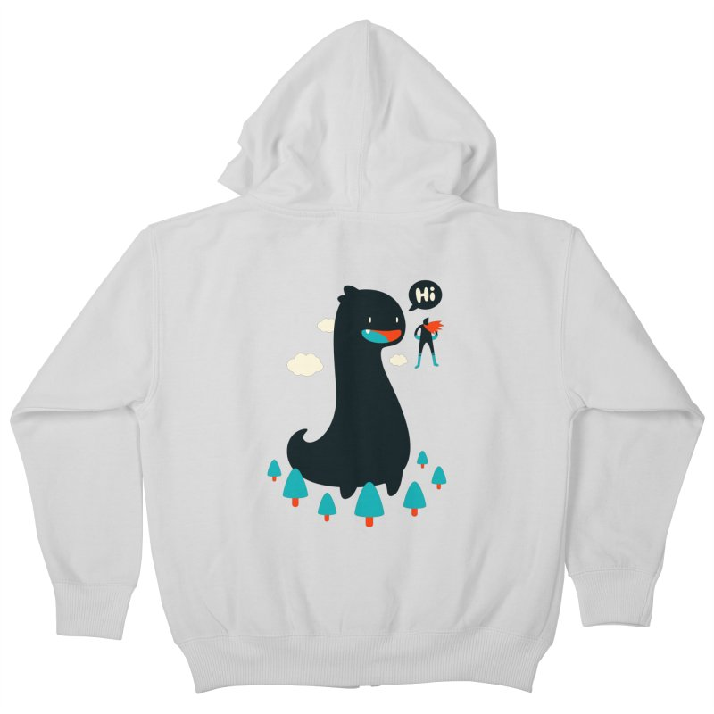 Safe from Harm Kids Zip-Up Hoody by Niel Quisaba's Artist Shop