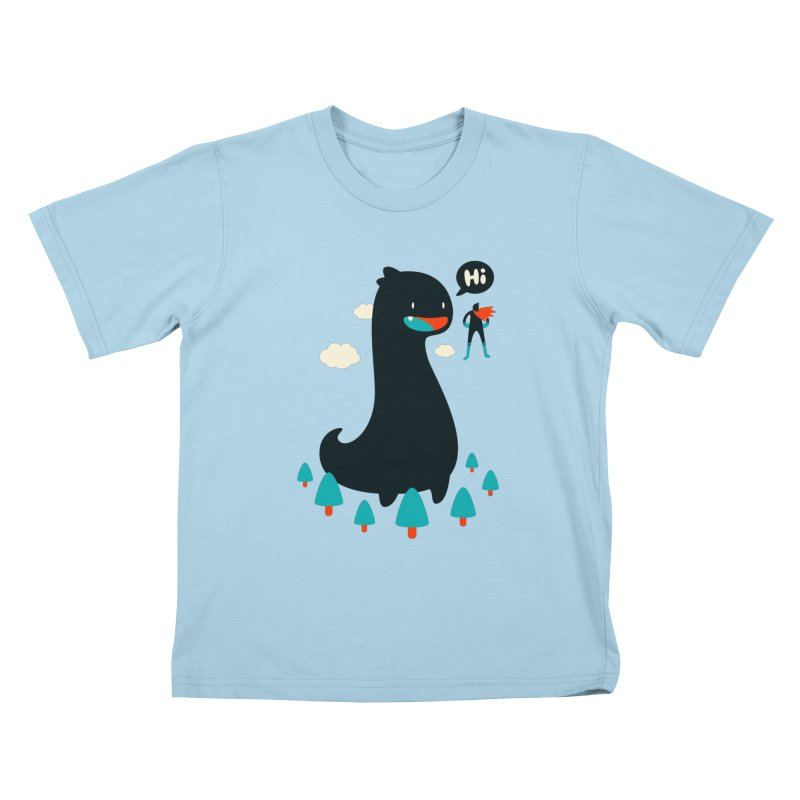 Safe from Harm Kids T-shirt by Niel Quisaba's Artist Shop