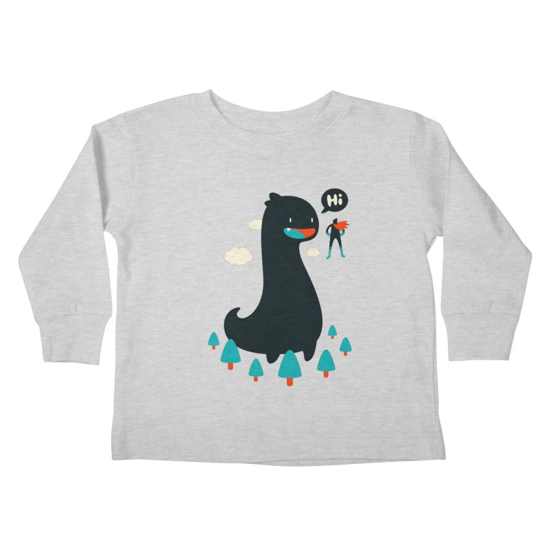 Safe from Harm Kids Toddler Longsleeve T-Shirt by Niel Quisaba's Artist Shop
