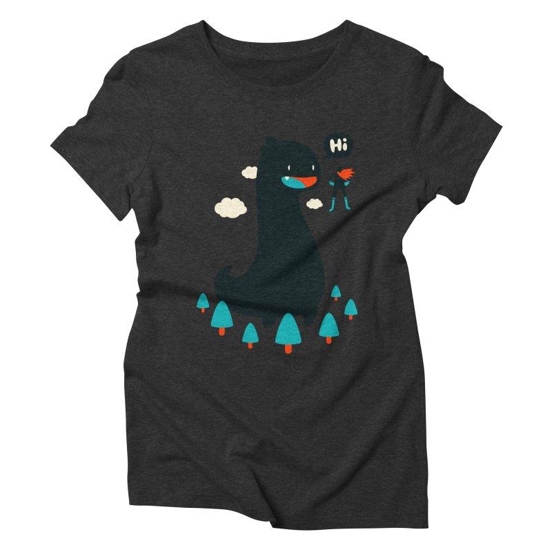 Safe from Harm Women's Triblend T-Shirt by Niel Quisaba's Artist Shop