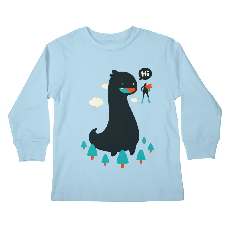 Safe from Harm Kids Longsleeve T-Shirt by Niel Quisaba's Artist Shop