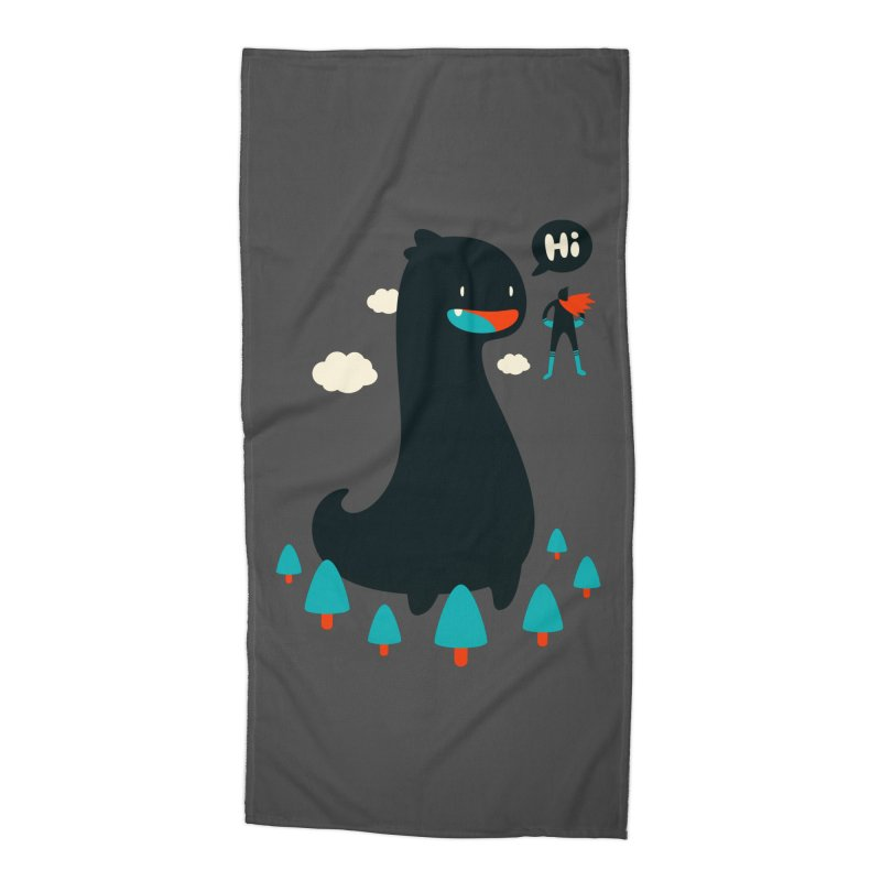 Safe from Harm Accessories Beach Towel by Niel Quisaba's Artist Shop