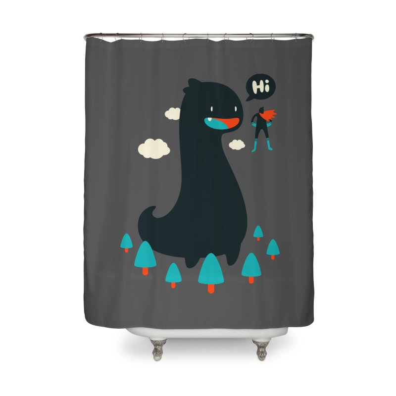 Safe from Harm Home Shower Curtain by Niel Quisaba's Artist Shop