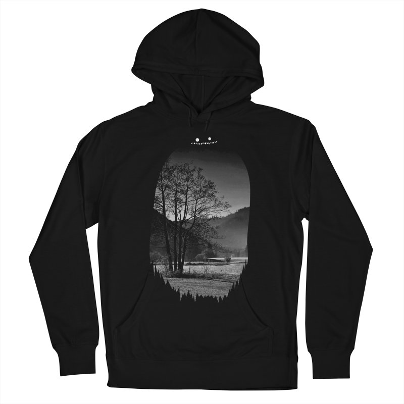 Monster Hill Men's Pullover Hoody by Niel Quisaba's Artist Shop