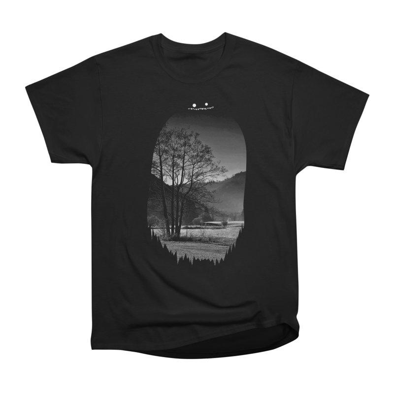 Monster Hill Women's Classic Unisex T-Shirt by Niel Quisaba's Artist Shop