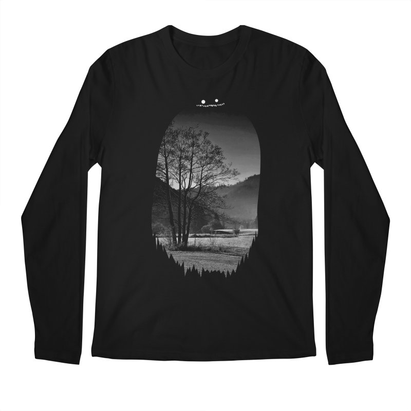 Monster Hill Men's Longsleeve T-Shirt by Niel Quisaba's Artist Shop