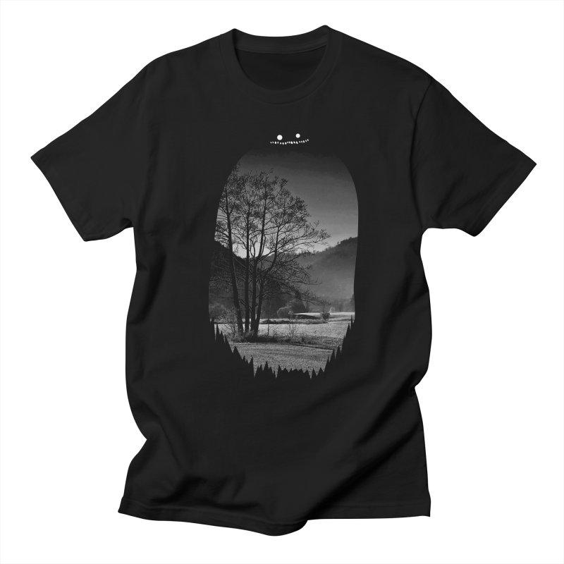 Monster Hill Women's Unisex T-Shirt by Niel Quisaba's Artist Shop