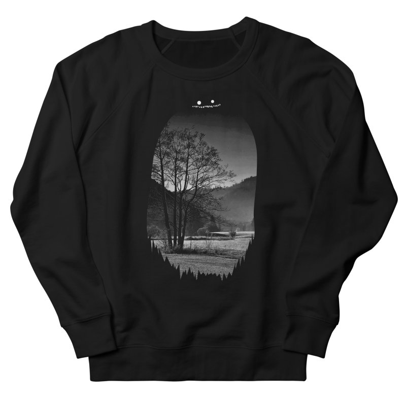 Monster Hill Women's Sweatshirt by Niel Quisaba's Artist Shop