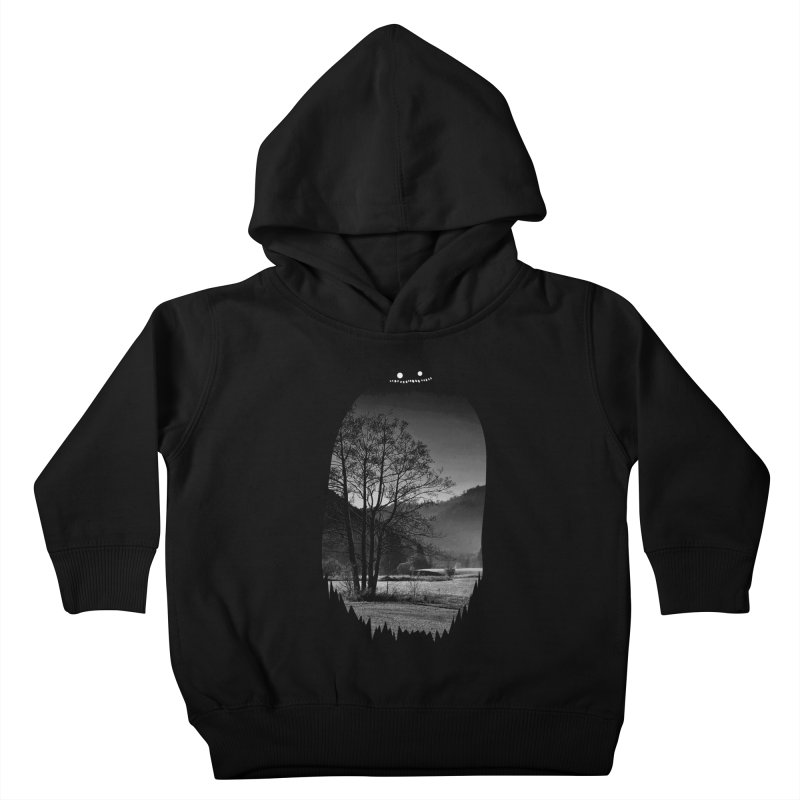 Monster Hill Kids Toddler Pullover Hoody by Niel Quisaba's Artist Shop