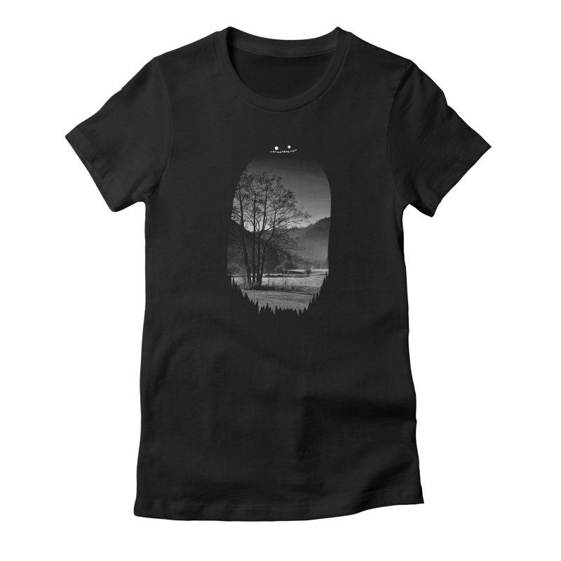 Monster Hill Women's T-Shirt by Niel Quisaba's Artist Shop