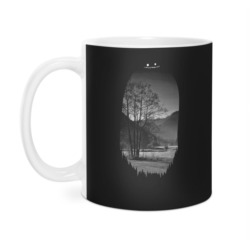 Monster Hill Accessories Mug by Niel Quisaba's Artist Shop