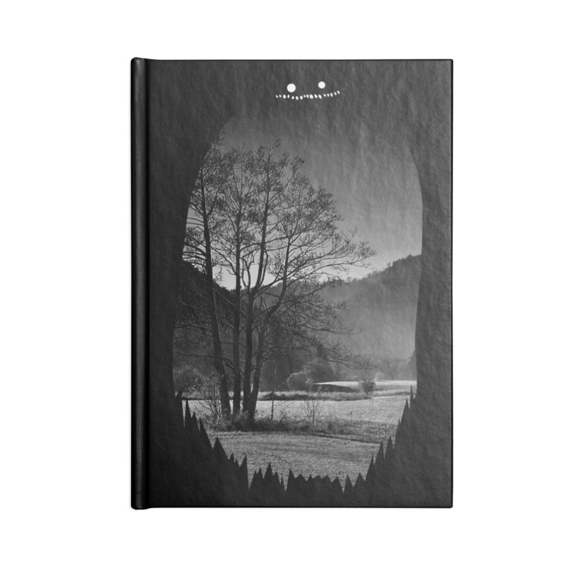 Monster Hill Accessories Notebook by Niel Quisaba's Artist Shop