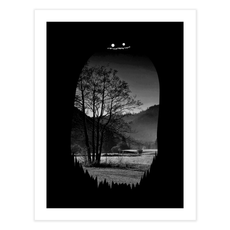 Monster Hill Home Fine Art Print by Niel Quisaba's Artist Shop