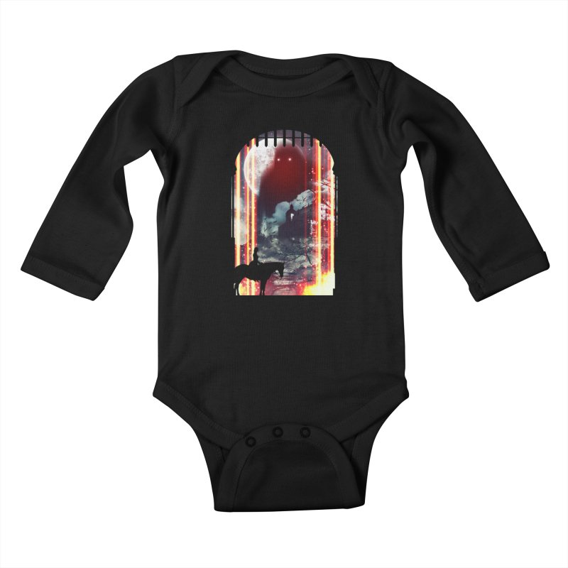 Wonderful Unknown Kids Baby Longsleeve Bodysuit by Niel Quisaba's Artist Shop