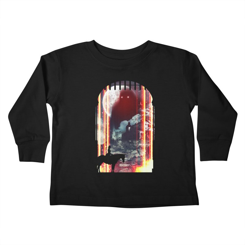 Wonderful Unknown Kids Toddler Longsleeve T-Shirt by Niel Quisaba's Artist Shop