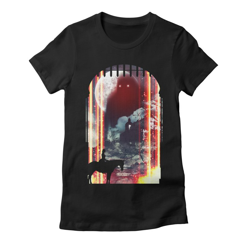 Wonderful Unknown Women's Fitted T-Shirt by nielquisaba's Artist Shop