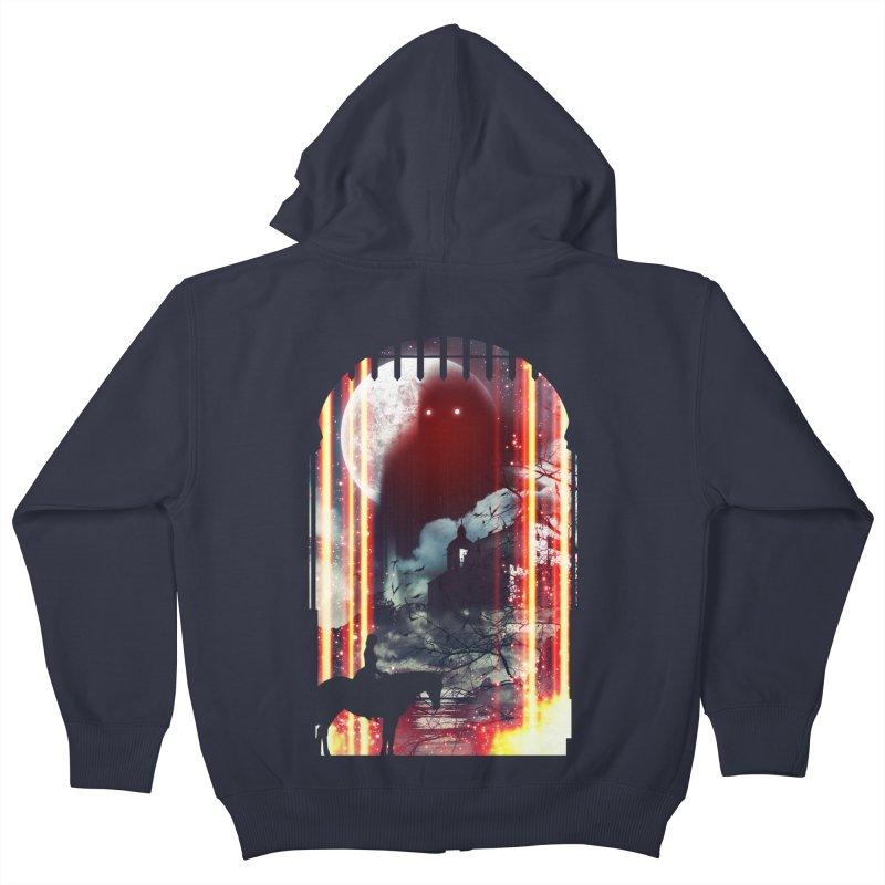 Wonderful Unknown Kids Zip-Up Hoody by Niel Quisaba's Artist Shop