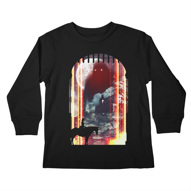 Wonderful Unknown Kids Longsleeve T-Shirt by Niel Quisaba's Artist Shop