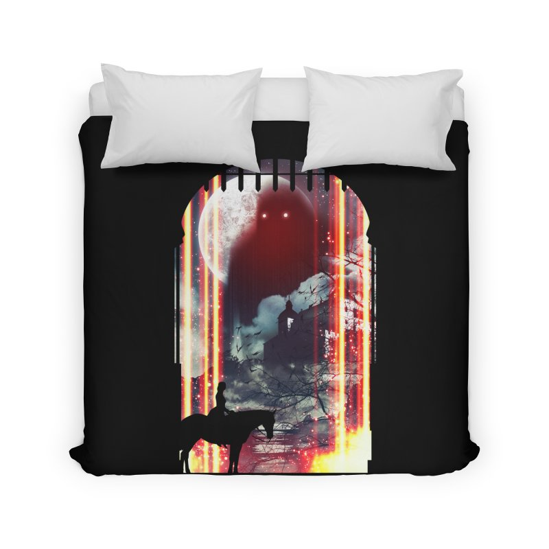 Wonderful Unknown Home Duvet by Niel Quisaba's Artist Shop