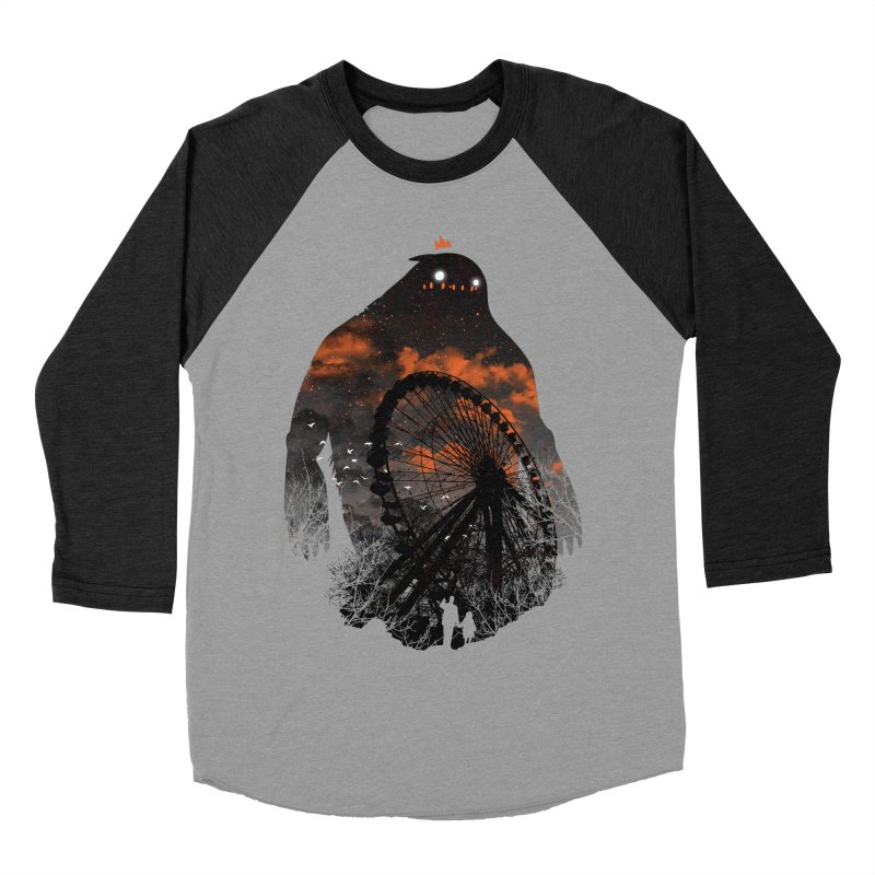 Waiting Women's Baseball Triblend T-Shirt by Niel Quisaba's Artist Shop