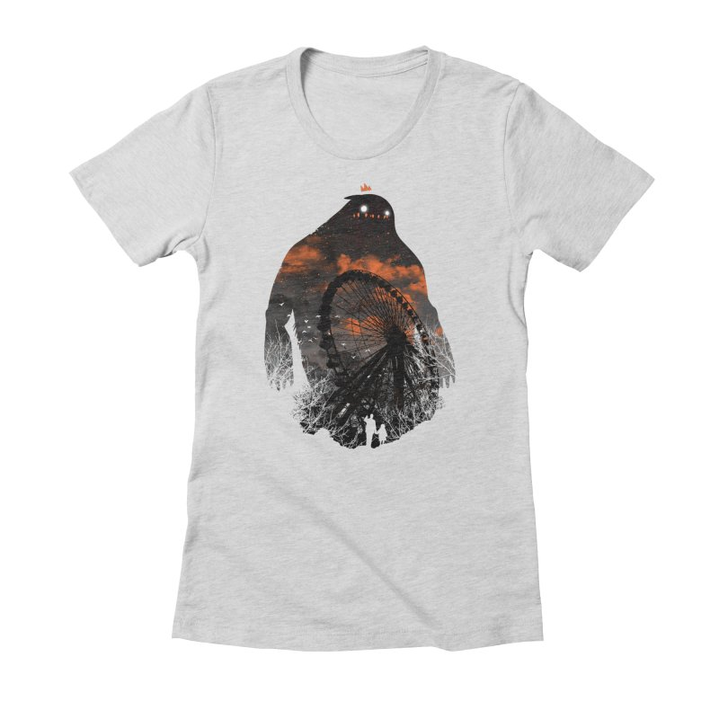 Waiting Women's Fitted T-Shirt by Niel Quisaba's Artist Shop