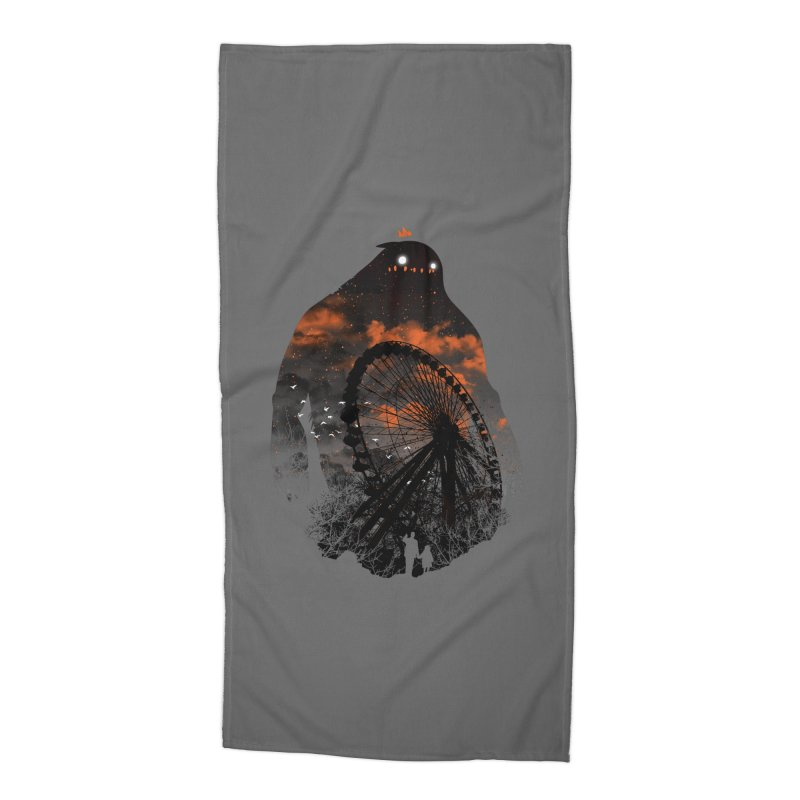 Waiting Accessories Beach Towel by Niel Quisaba's Artist Shop