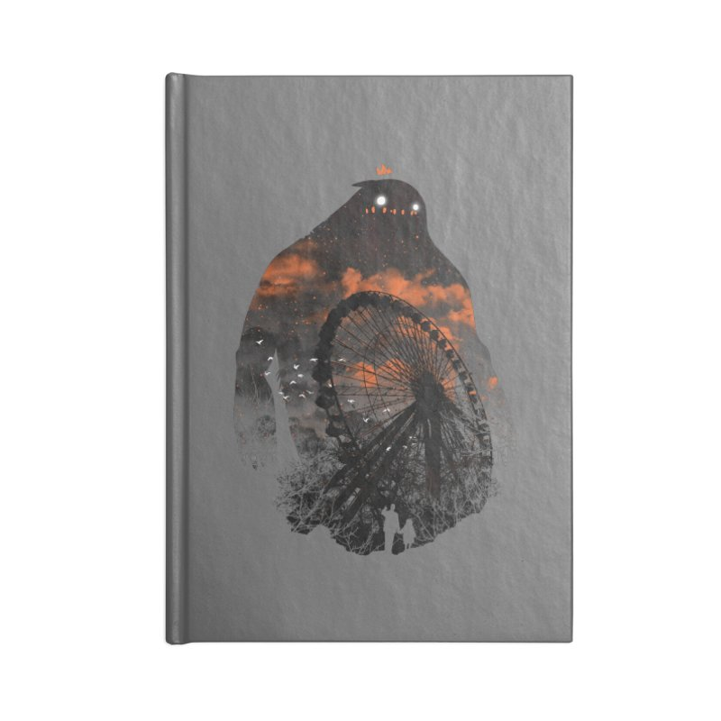 Waiting Accessories Notebook by Niel Quisaba's Artist Shop