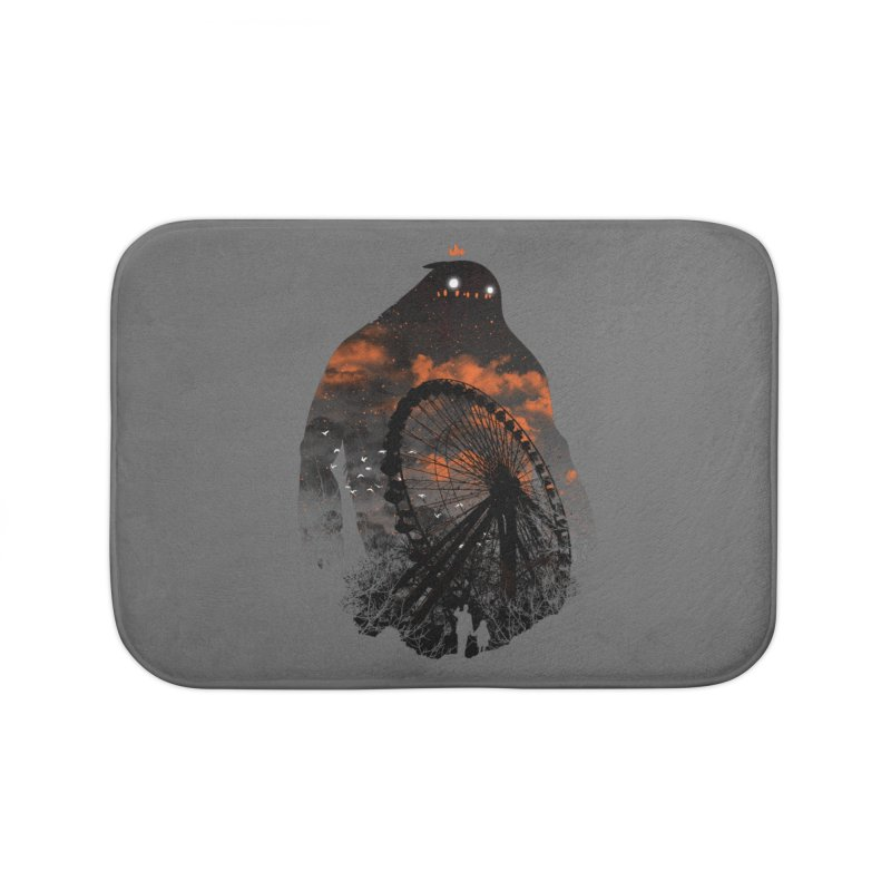 Waiting Home Bath Mat by Niel Quisaba's Artist Shop