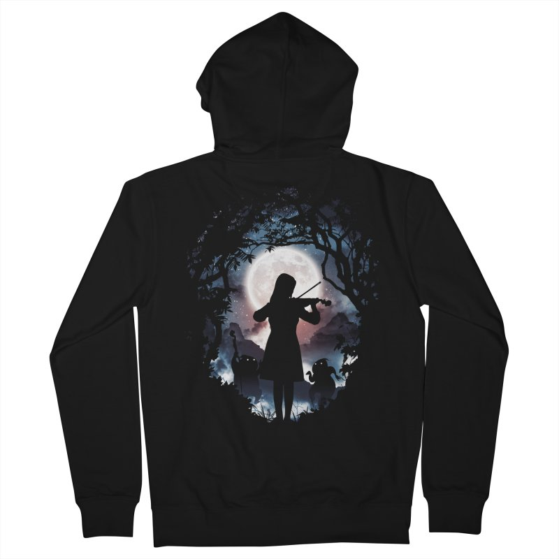 Moondance Men's Zip-Up Hoody by Niel Quisaba's Artist Shop