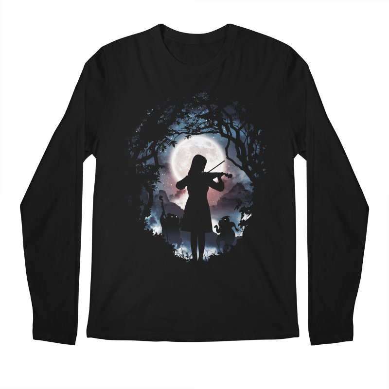 Moondance Men's Longsleeve T-Shirt by Niel Quisaba's Artist Shop