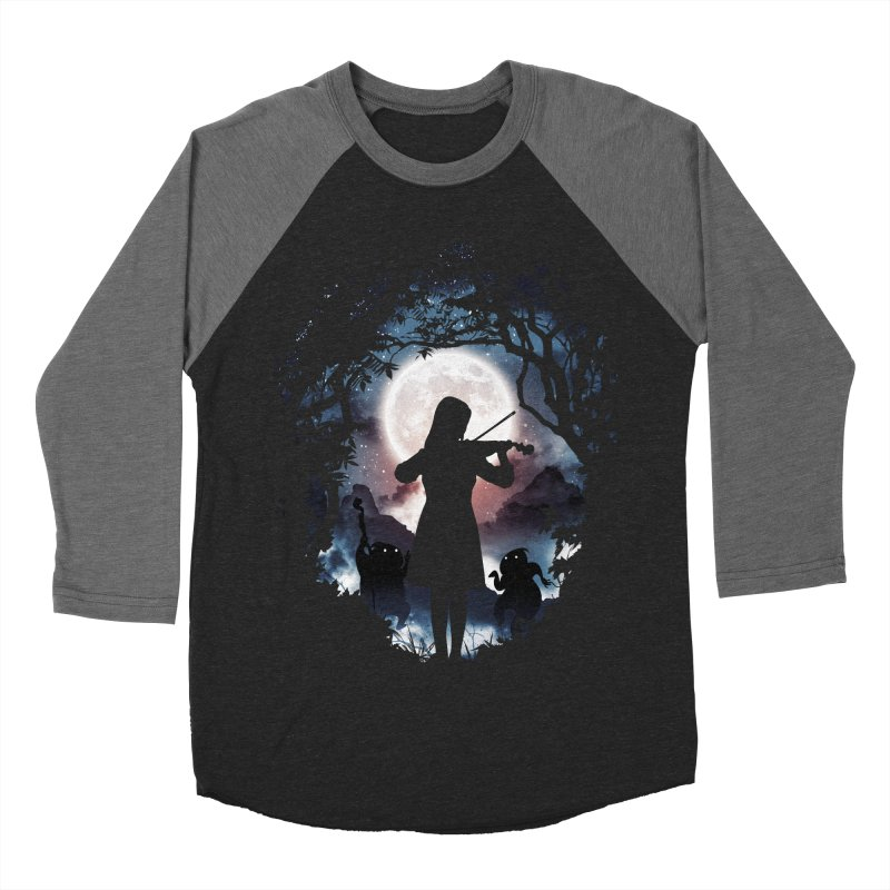 Moondance Women's Baseball Triblend T-Shirt by Niel Quisaba's Artist Shop